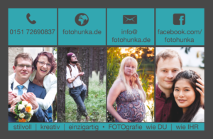 Visitenkarten FOTOhunka